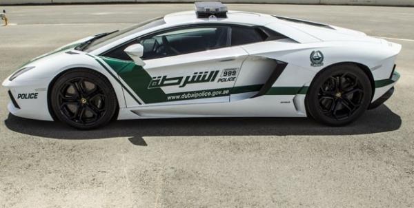 Polícia de Dubai vai usar Lamborghini Aventador para patrulhar as ruas