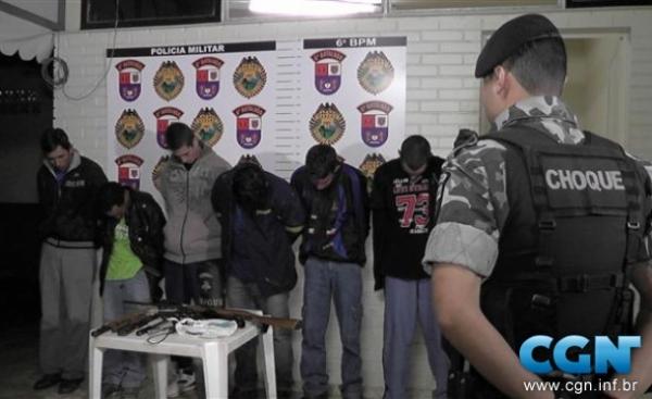 Suspeitos são presos tentando furtar gado para matar e fazer churrasco