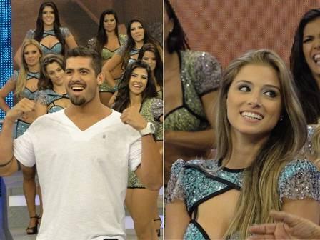 Bailarina do Faustão e namorada do ex-BBB Yuri é antipática com imprensa