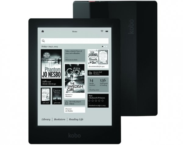 Kobo anuncia leitor digital com tela de maior resolução do mercado