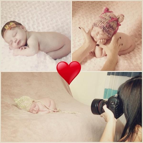 Sheila Mello posta fotos de ensaio da filha Brenda: