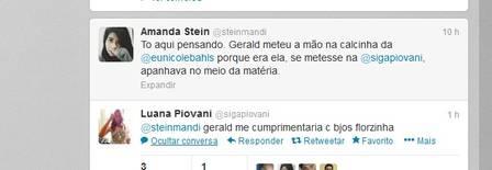 Luana Piovani ignora ataques de Nicole Bahls, mas volta a mandar indiretas