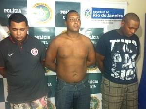Terceira vítima de estupro reconhece trio suspeito de crimes em van