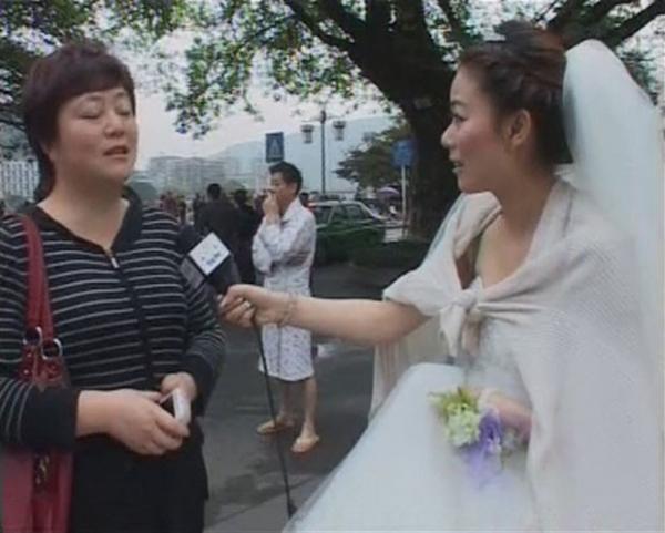 Repórter chinesa