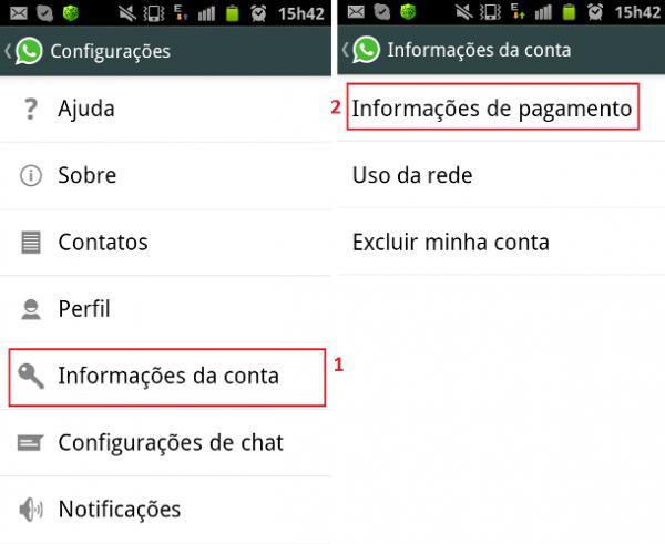Veja aqui dicas para renovar sua assinatura do WhatsApp no Android