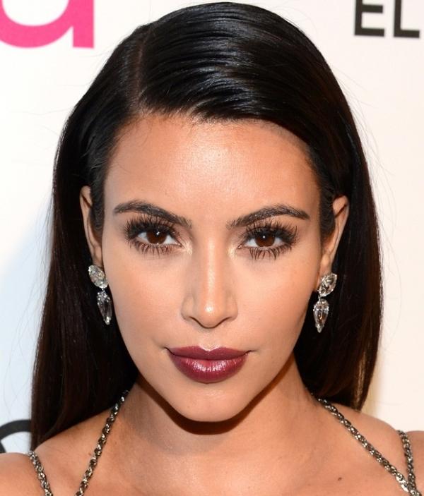 Copie o look de inverno de Kim Kardashian
