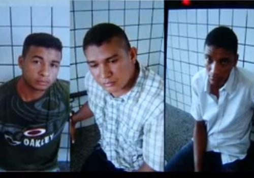 Assaltantes são presos andando em carro roubado em Teresina