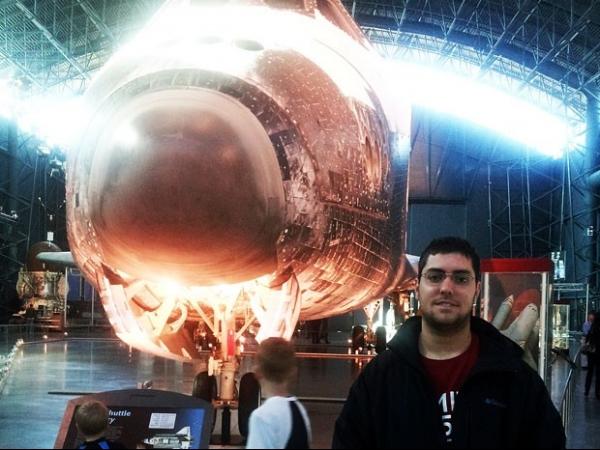 Brasileiro ganha viagem espacial em concurso: