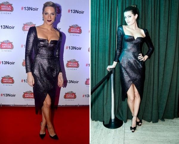 Giovanna Ewbank repete  look de Isabeli Fontana; quem vestiu melhor?