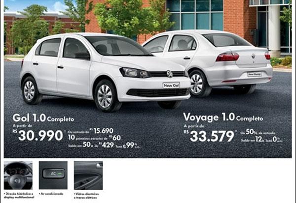 Festival  de Fábrica Volkswagen na Alemanha  Veículos tem parcelas a partir de R$ 60,00