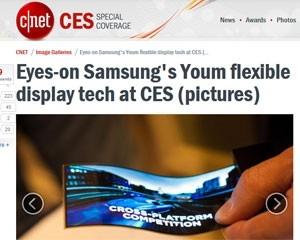 LG planeja lançar smartphone com tela flexível no fim do ano, diz jornal