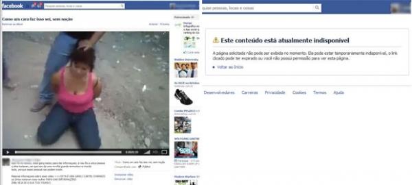 Após polêmica, vídeo no Facebook que mostrava decapitação sai do ar