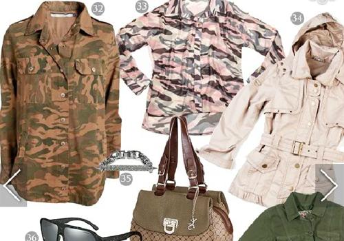 Militar em alta! Veja estilo pra você entrar na moda