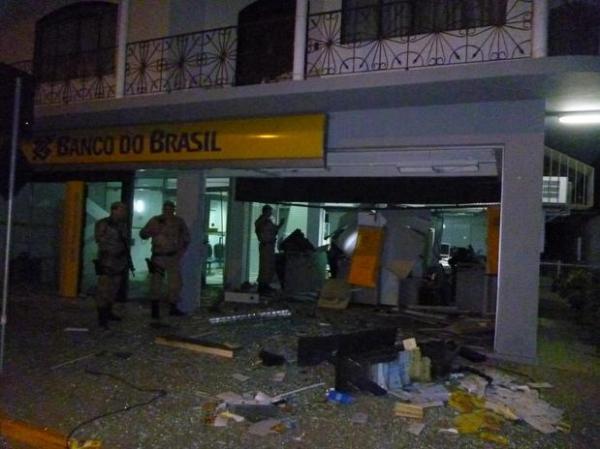 Agência do Banco do Brasil é roubada pela 2ª vez em menos de três meses