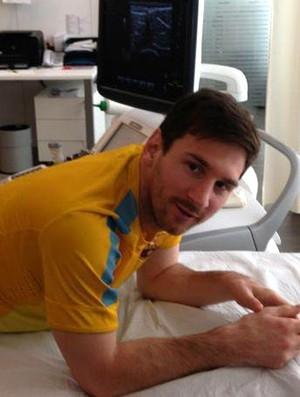 Messi desfalca Barça no jogo de sábado, mas promete: