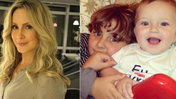 Claudia Leitte desmaia ao dar entrada com filho no hospital