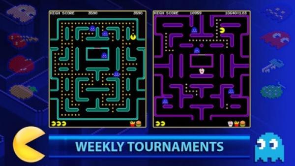 Pac-Man chega ao Android de graça e com torneios multiplayer semanais