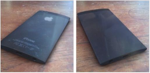 iPhone 5S aparece com tela curva e laterais arredondadas em fotos vazadas