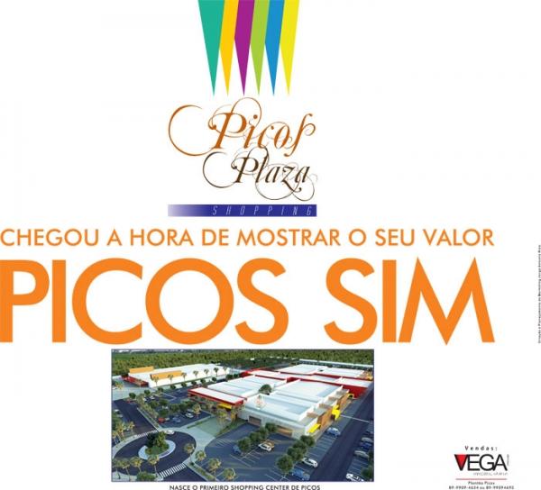 Jornal MN mostra belo anúncio do Picos Plaza Shopping; pré-venda de lojas começa amanhã