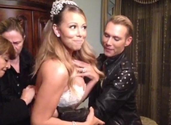 Marido de Mariah Carey fecha a Disneylândia para renovar os votos de casamento