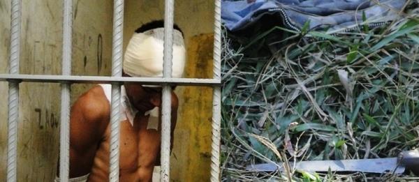 Pai mata filhos a facadas para não os ver passar fome, diz delegada