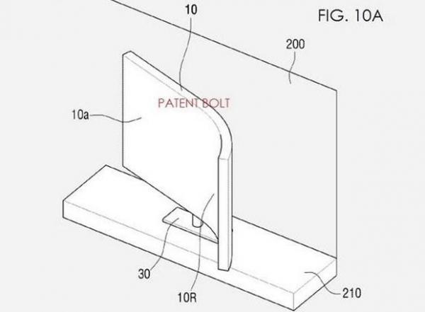 Patente de televisor apresenta tela flexível e que pode ser dobrada