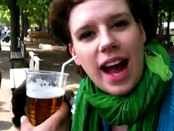 Vídeo de mulher