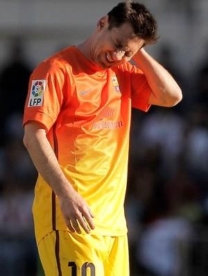 Com lesão na coxa, Messi não deve mais entrar em campo na temporada