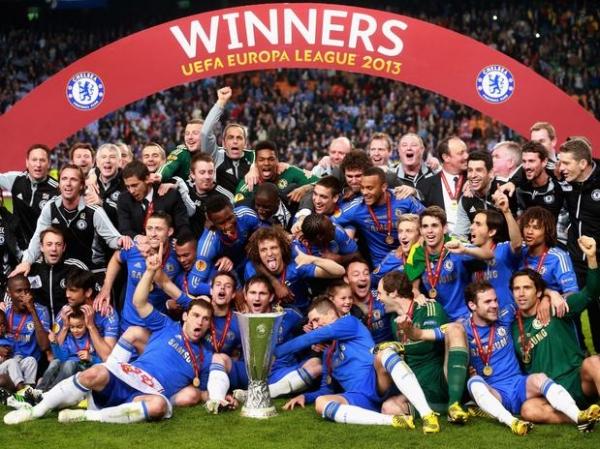 Chelsea marca no minuto final do 2º tempo e é campeão da Liga Europa