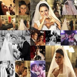 Belo comemora um ano de casado com Gracyanne: