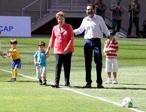Dilma inaugura o Mané Garrincha, chamado de