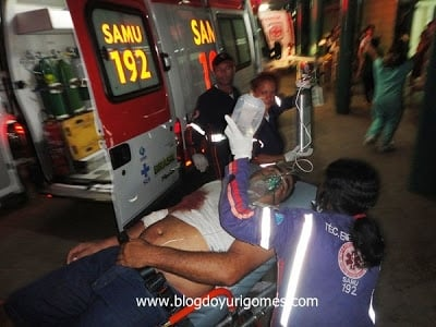Motorista do SAMU é agredido com facada abaixo do peito