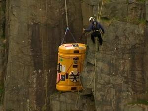 Por recorde, britânico passará 60 dias em rochedo isolado no Atlântico Norte