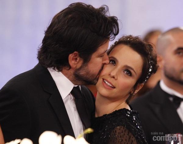 Murilo Benício estaria reutilizando aliança da ex com Débora Falabella