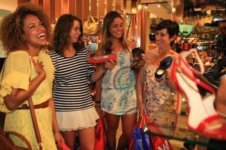 Como Amora, de ?Sangue bom?, it girls cariocas são referência para meninas que amam moda