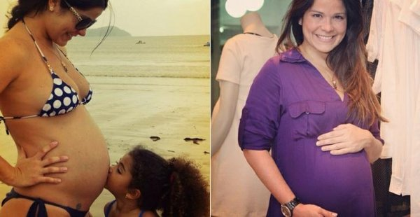 Samara Felippo dá à luz Lara no Rio de Janeiro