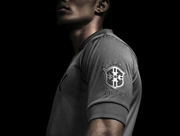 Seleção brasileira terá nova camisa preta e com Cruzeiro do Sul no peito