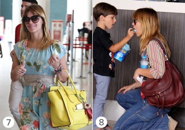 Veja algumas bolsas que estão entre as preferidas de Carolina Dieckmann