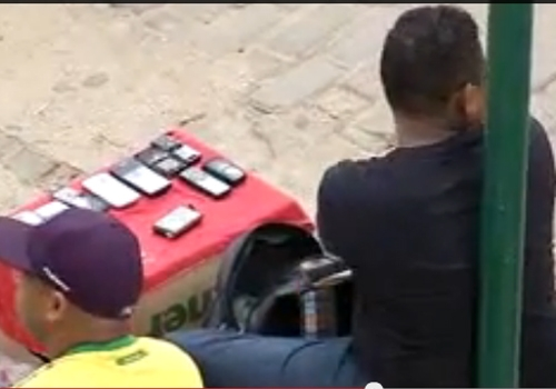 Celulares roubados podem estar sendo vendidos no centro de THE