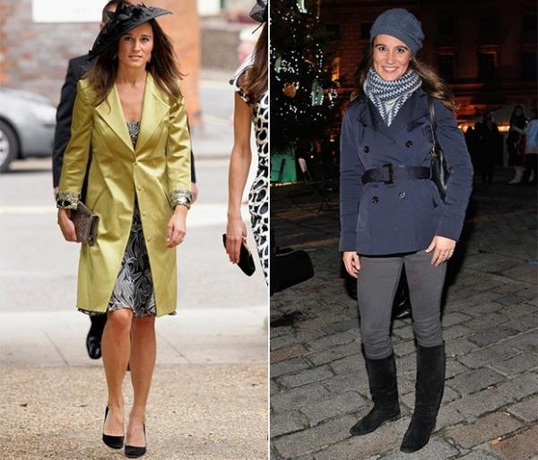 Fã de chapéus, Pippa Middleton vai do básico ao glamouroso