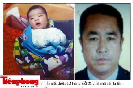 Ladrão que estrangulou bebê é condenado à morte na China
