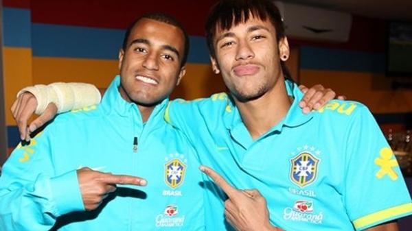 Lucas crê que Neymar deixará de lado fama de