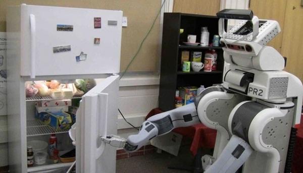 Robô consegue