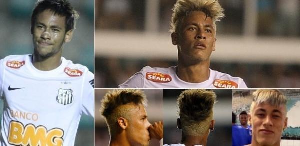 Barça sugere cabelo discreto, e Neymar abandona visual loiro e moicano
