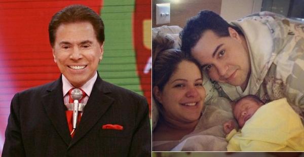 Nasce o 1º bisneto de Silvio Santos, Miguel, filho de Ligia Abravanel