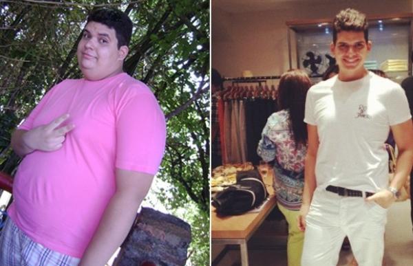 Piauiense Mauro Estrêla, mostra resultado de regime e diz como perdeu quase metade do peso
