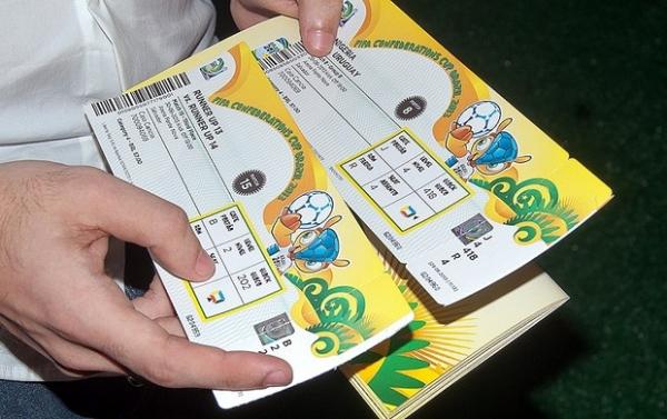 Sites têm ingressos até 42 vezes mais caros para Copa das Confederações