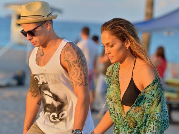 Tiros assustam e param gravação de vídeo da cantora Jennifer Lopez