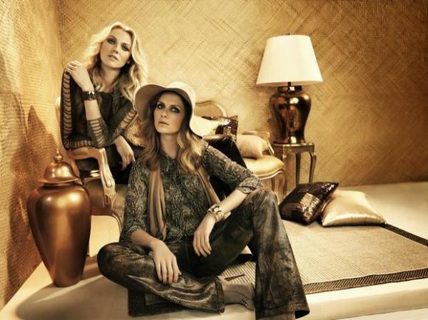 Ana Claudia Michels e Shirley Mallmann posam juntas em campanha