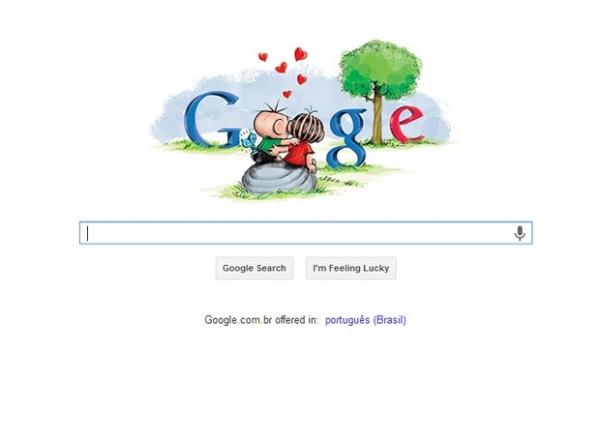 Google muda logotipo em homenagem especial para o Dia dos Namorados